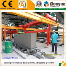 Production machine autoclaved aerated concrete block plant posting in a month
