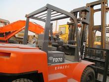 Used forklift trucks used 7 ton, used Toyota forklift 7 ton, 7FD70