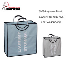 Wholesale easy carry laundry bag / laundry storage bag with handles