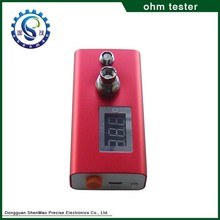HOT on big sale, ohm reader ecig wickless atomizer Newest mutation x V3 rda atomizer ohm meter in stock