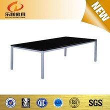 modern coffee table cheap high end pool tables with black glass H07