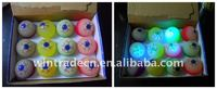 LED Ball toy, Rubber Ball, Halloween Rubber Flashing Eyeball