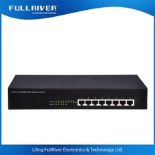 10/100M 802.3af Network 4 8 Port POE ethernet Switch poe Injector 15 30 60 150 w