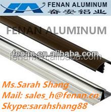 China perfil de alumínio trilho de cortina de alumínio fabricante