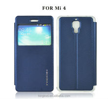 Ferrise wallet card stand leather case for miui xiaomi 4