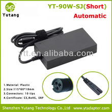 90W Slim Automatic Universal Power Adapter Ac Charger notebook power adapter