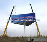 highway stand model scrolling billboard sign structure for advertising backlit display