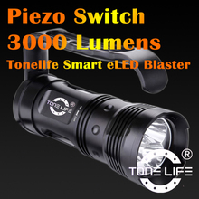 Tonelife TL4008 Diving Main Torch New Led Flashlight for Cave Diving