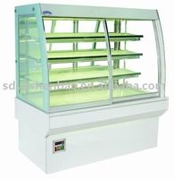 Marble glass cake refrigerator/Luxurious cake display cooler