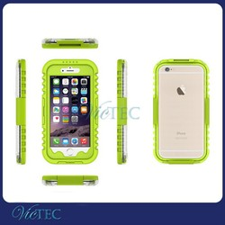 China supplier transparent diving waterproof cover for iphone 6 with rope