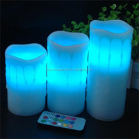 Multi-Colored Color and Color Changing,flameless/eco-friendly Feature smokeless LED candle