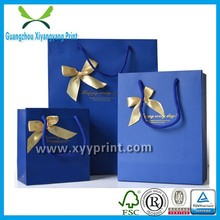 New Style printed china gift paper bag manufactures