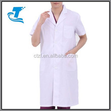 2015 Summer Short Sleeve Doctor Hospital White Lab Coat