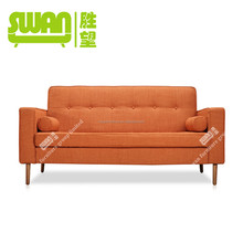 5027 high quality old style wooden sofa
