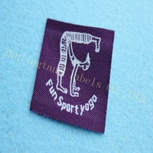 custom classical woven labels for artwork product