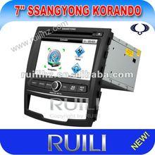 2012 SSANGYONG Korando Car GPS with Bluetooth