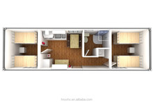 Luxury container houses,container homes used as dormitory