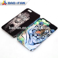 Newest full printed Leather flip sublimation Phone Case for phone6