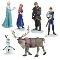 (New) 6pcs 6-6.5cm Movie Frozen Action Figure, High Quality Custom Cute Frozen Figures Supplier, Frozen Cartoon Figure