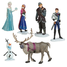(New) 6pcs 6-6.5cm Movie Frozen Action Figure, High Quality Custom Cute Frozen Figures Supplier, Frozen Cartoon Figure
