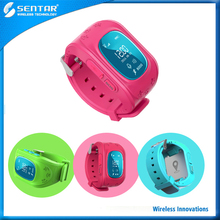 Smart Anti Lost SOS Call Location Finder Locator Tracker for Kids Children GPS Monitor Bracelet Gift kids smart watch