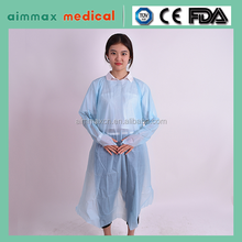 CPE gown with thumb up, best delivery