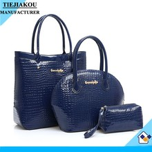 Designer 3 pcs in1 set women bags china supplier bags wholesale