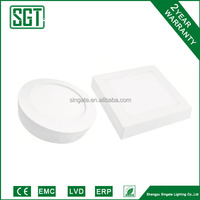 exclusive design led surface panel light parts for south america