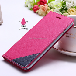 import PU material dot view iface case for apple iphone6