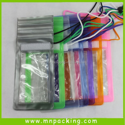 Reusable Factory Manufacture Durable Pearly Waterproof Bag for Packaging with Phone