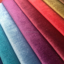 Haining Shining Velvet Sofa fabric bonding with backing fabric for sofa or upholstery