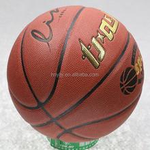 PU leather material mini basketball