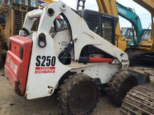 USA bobcat used skid steer wheel loader / cheap bobcat skid steer loader