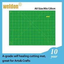 Weldon Reversible Artist&Builder's Portable self healing colourful cutting mat