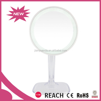 Cosmetic Luxury Salon Styling Stations Led Practical Mirrors