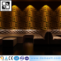 new friendly show room Fashionable design 3D decorative wall panel