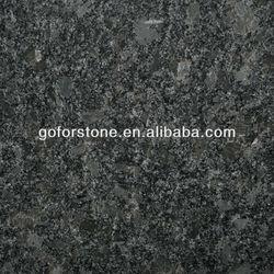 Steel gray granite for countertops and tiles