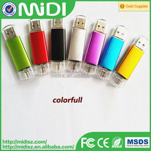 Promotional Advertising USB, Colorful Light usb flash drive 128MB to 128 GB