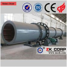 Low fuel consumption rotary dryer widely used for drying slag, clay, limestone, coal,metal gold mine