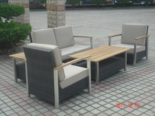 2015 mew model outdoor furniture sectional sofa