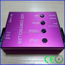 T-1000 Addressable led twinkle light dmx512 pwm led controller