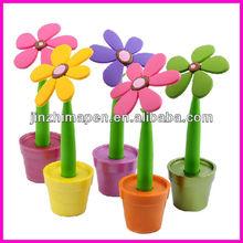 Novelty promotional flower pen