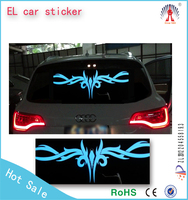 Cold Light Film Voice light / LED equalizer panel Car el equalizer sticker