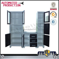 Modern Design Display Kitchen Cabinet/ new model kitchen cabinet/ metal kitchen cabinets sale