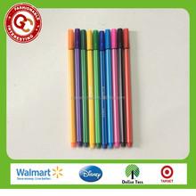 novelty non-toxic 0.4mm fine line marker pen for kids