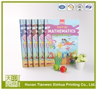 short run offset printing education book printing, cardboard book printing