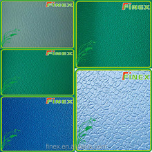 Litchi ,Embossed and wood pattern sports PVC flooring
