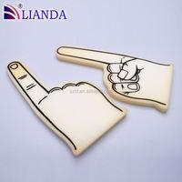 2015 hotsale alibaba China factory fan cheering foam finger
