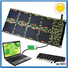 Mini Folding Laptops Notebook Phones Solar Pannel Charger Bag