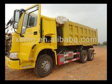6x4 volcado de camiones para la venta, hecho en china